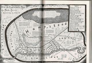 Mapa de londres de Martin Rowson