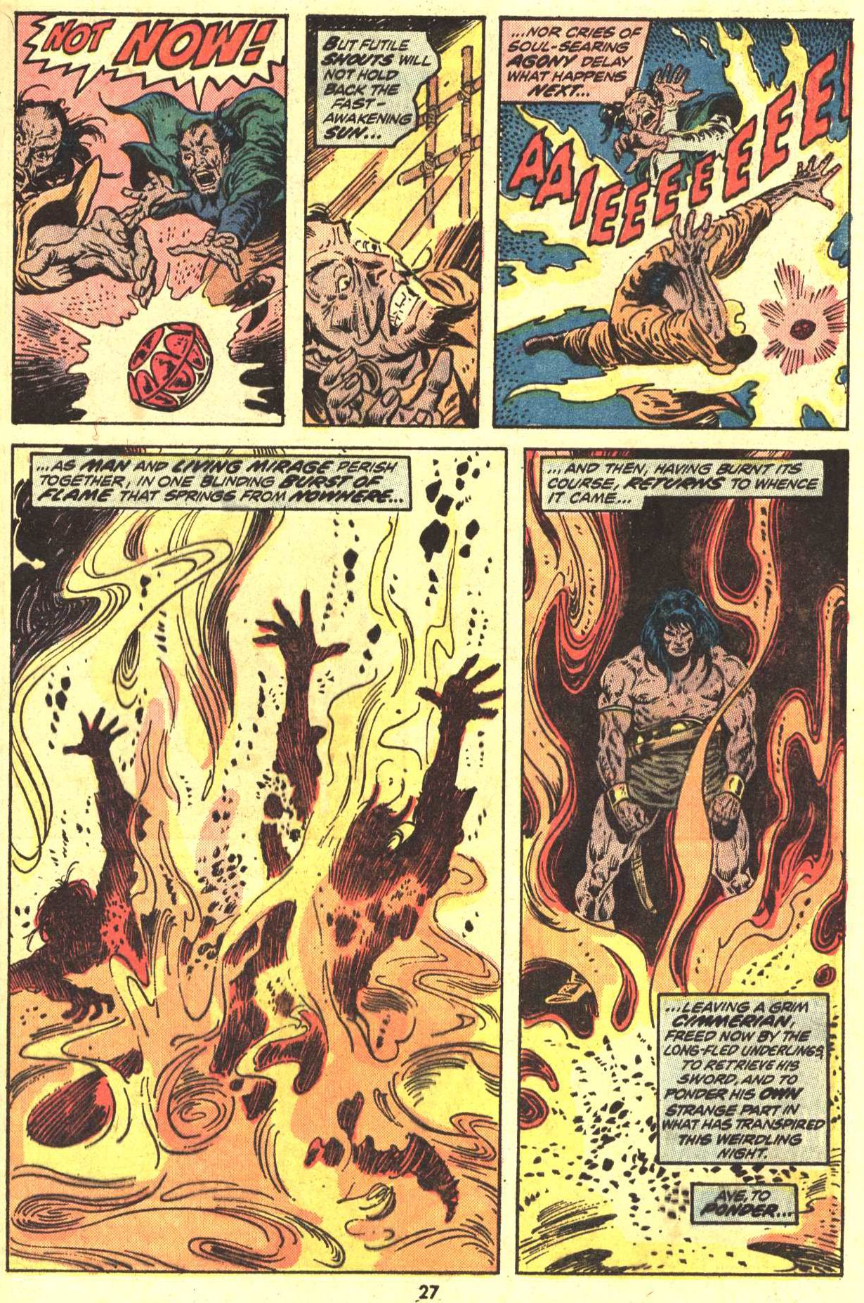 Conan the Barbarian (1970) Issue #29 #41 - English 20