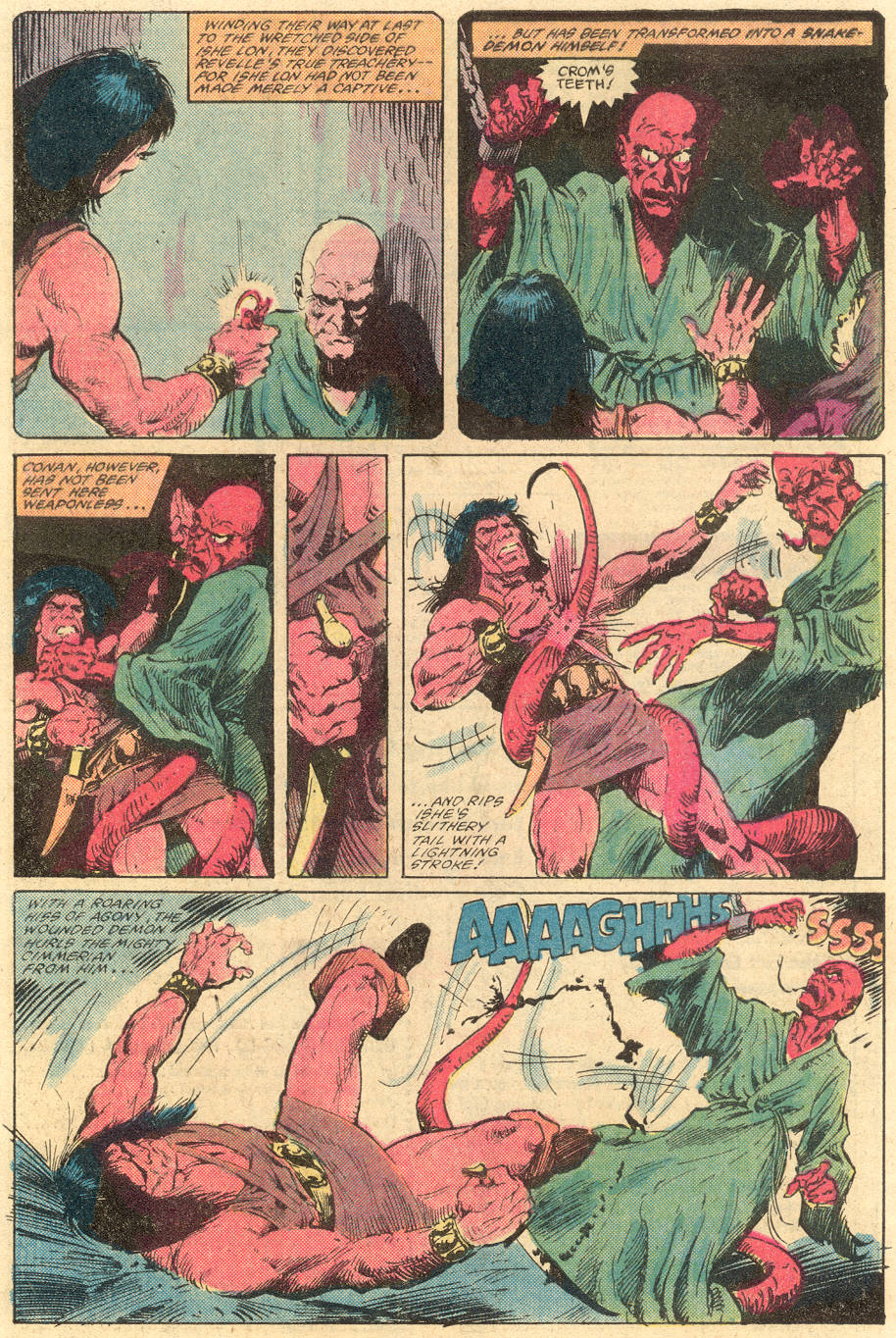 Conan the Barbarian (1970) Issue #139 #151 - English 4