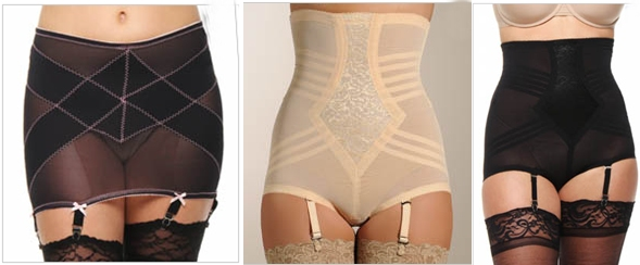 vintage style rago girdles and stockings