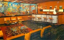Le bar de la Brasserie Pelforth