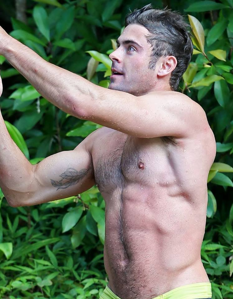 Zac Efron : Une scne nue dans That Awkward Moment en