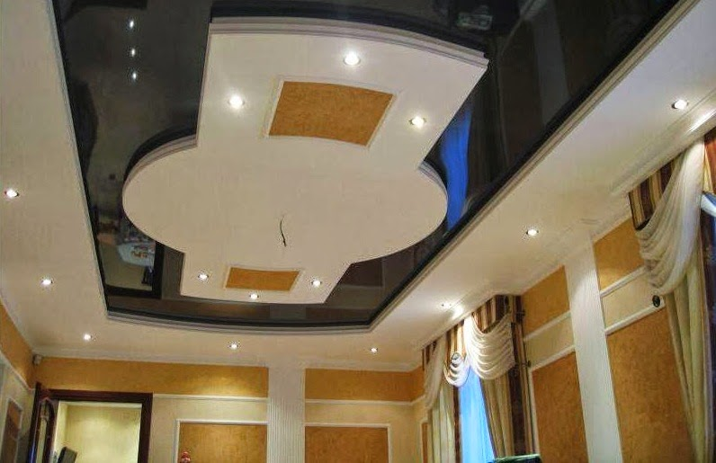 Fantastique artisanat mod les de faux plafond suspendu for Decoration platre pour salon
