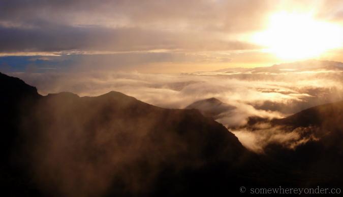 View from the summit of Cerro Chirripo, Costa Rica