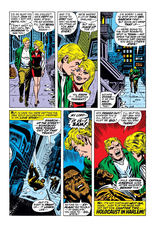 Captain America (1968) Issue #143 #57 - English 16