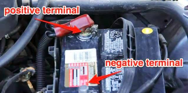 negative or positive terminal first