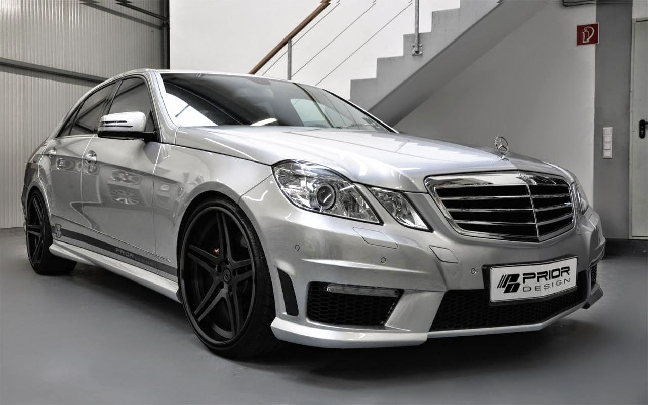 mercedes benz e class w212 by prior design benztuning. Black Bedroom Furniture Sets. Home Design Ideas