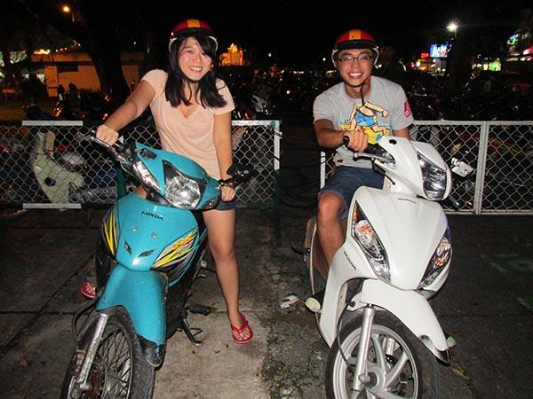 Riding Motorbikes