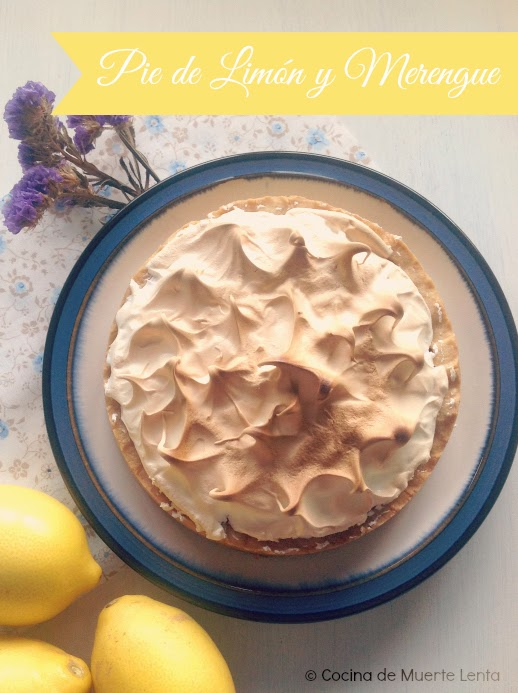 Pie de Limón y Merengue (Lemon Meringue Pie)
