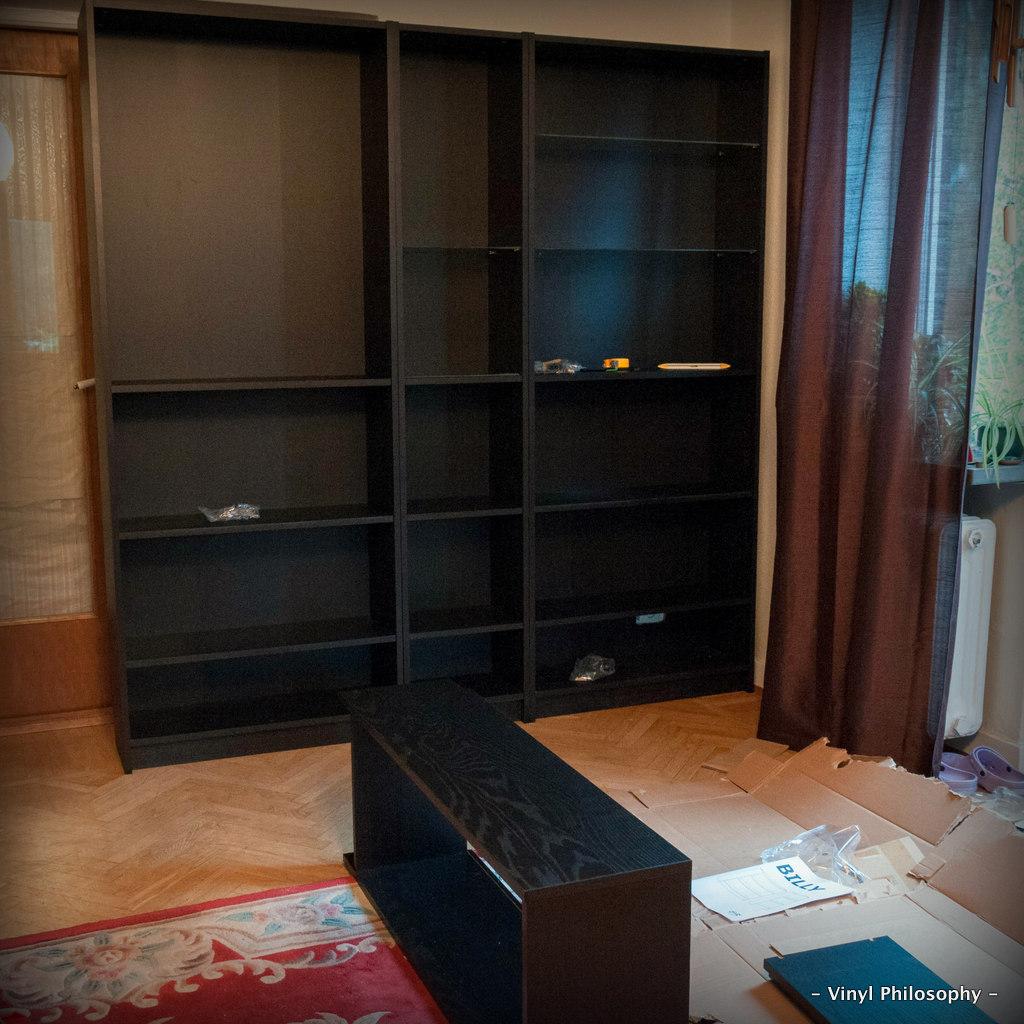 Vinyl Philosophy -: DIY Home Bar built from IKEA Stuff
