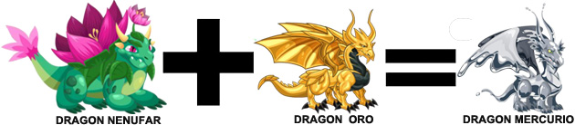 como sacar el dragon mercurio en dragon city combinacion 1