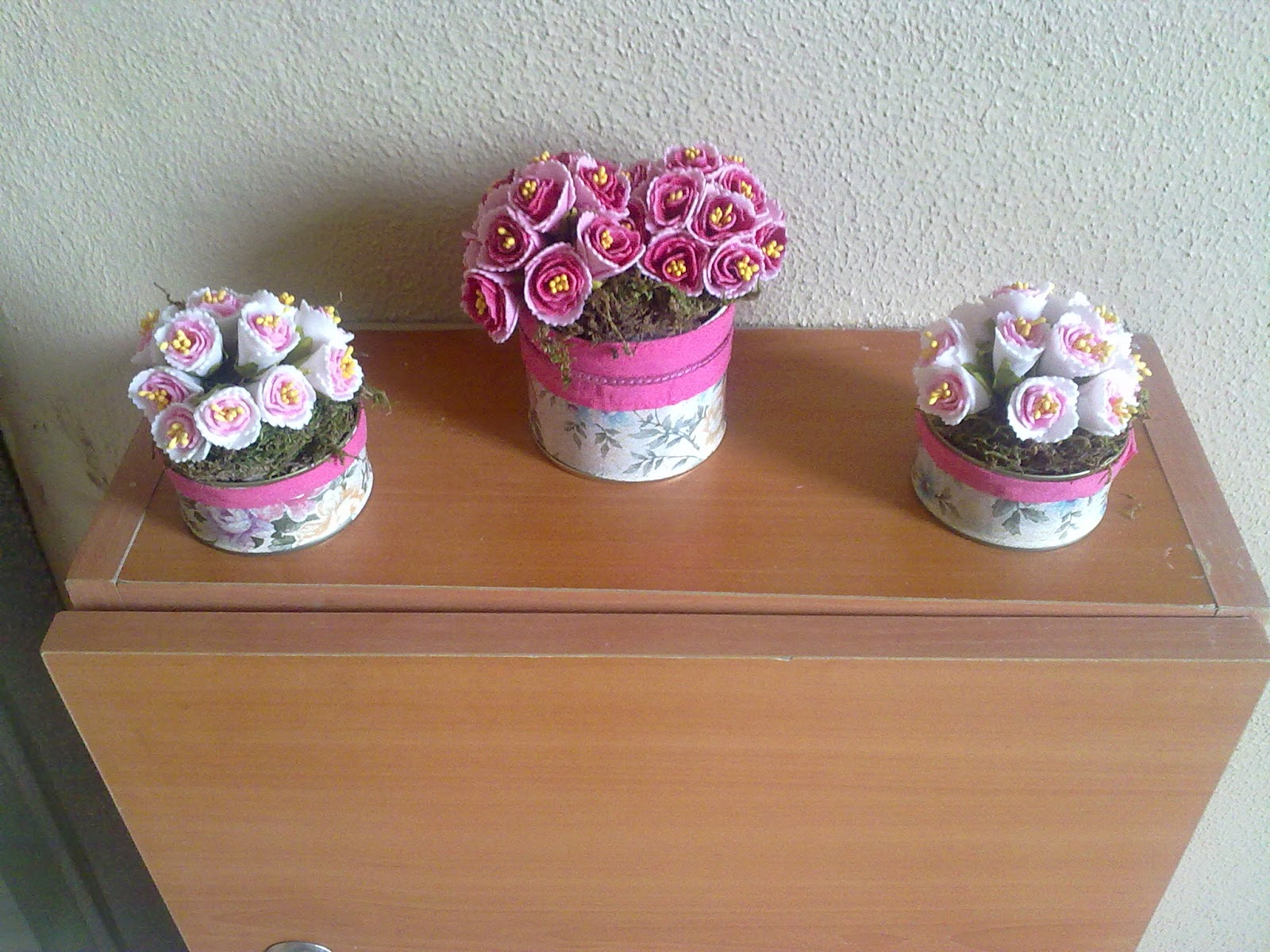 Konserve Kutusundan Çiçek Saksısı Yapımı