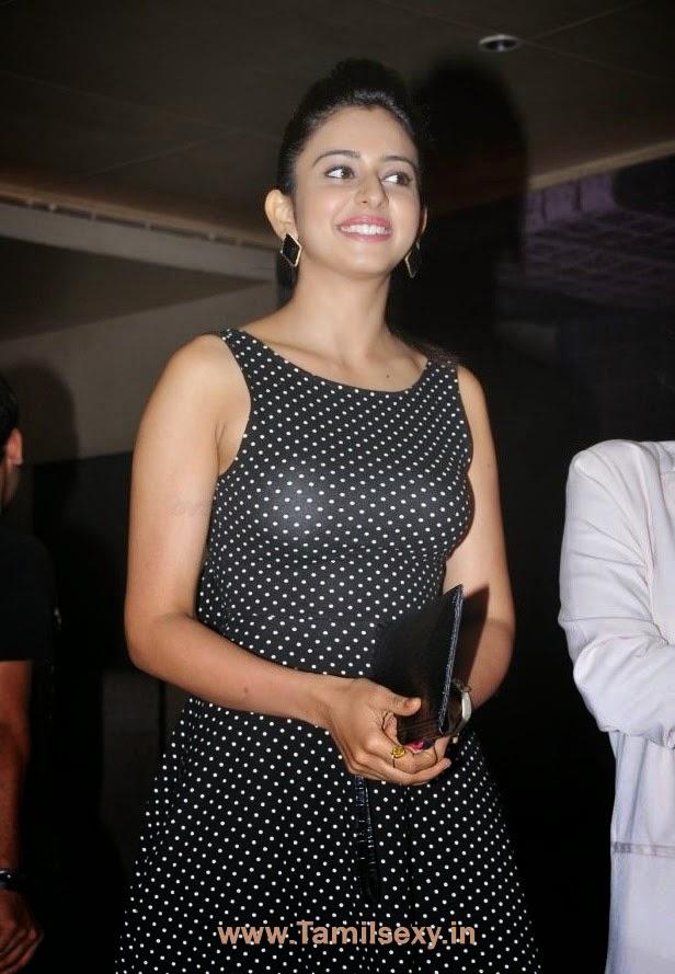 Rakul Preet Singh In Hot Black Dress | Tamil Actress Hot Pics