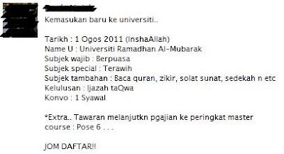 ramadhan, quote, ucapan, universiti, muslim, islamik