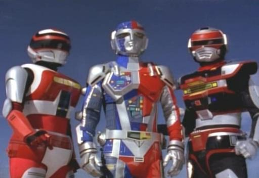 VR Troopers Americanized Retro Kids Show VR Troopers Armor Season 1