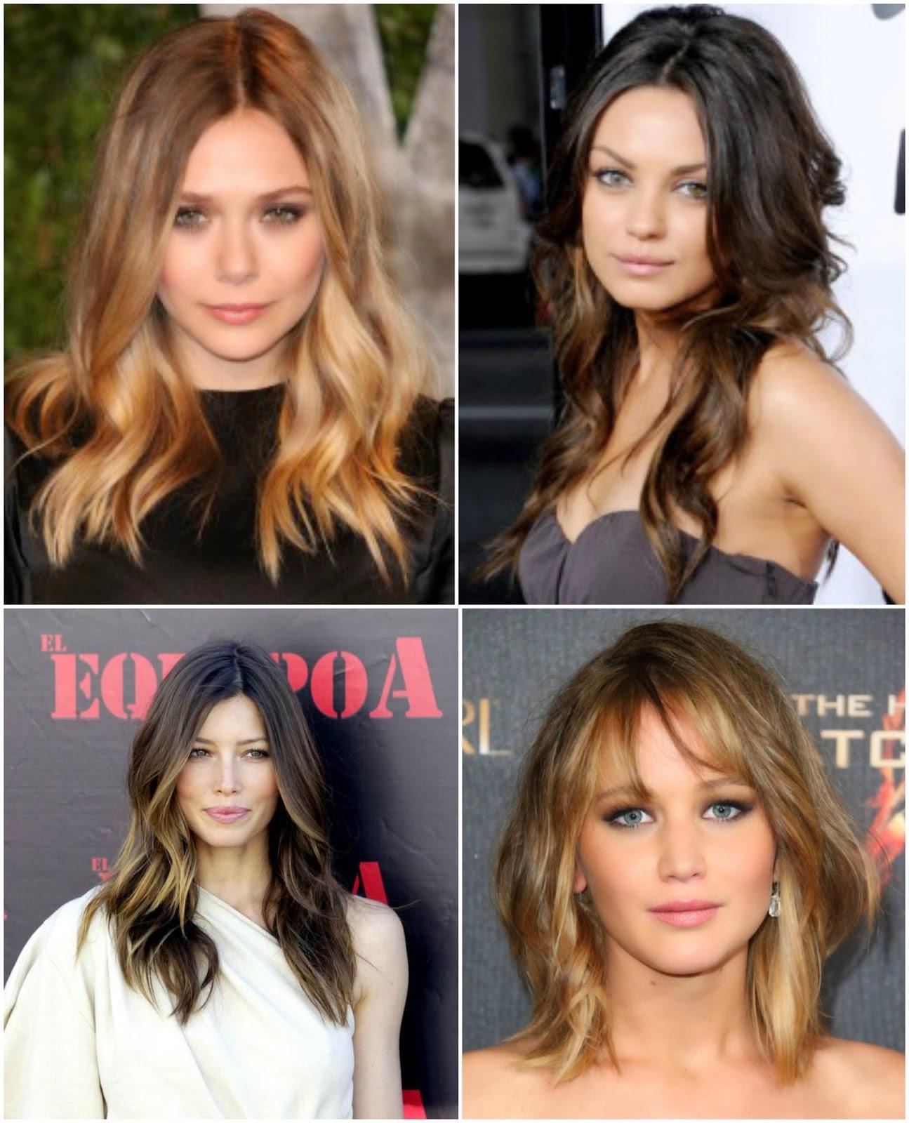 sombre hair celebrity