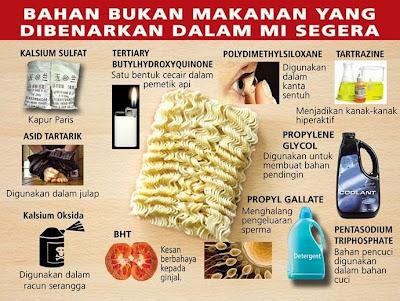 bahaya makan mee segera