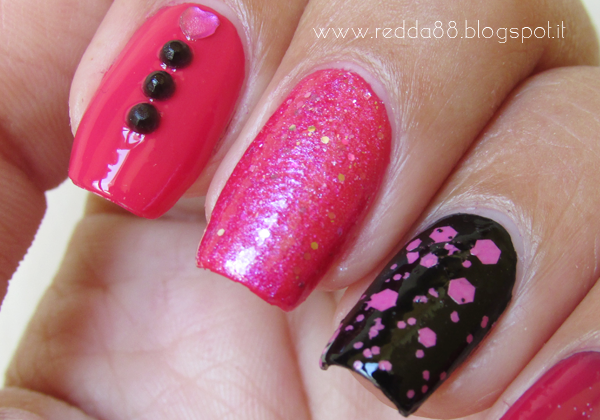 nail art, nail art of the week, sinful colors, debby, essence, yesensy
