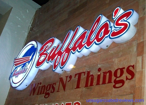 Buffalo's Wings n' Things signage