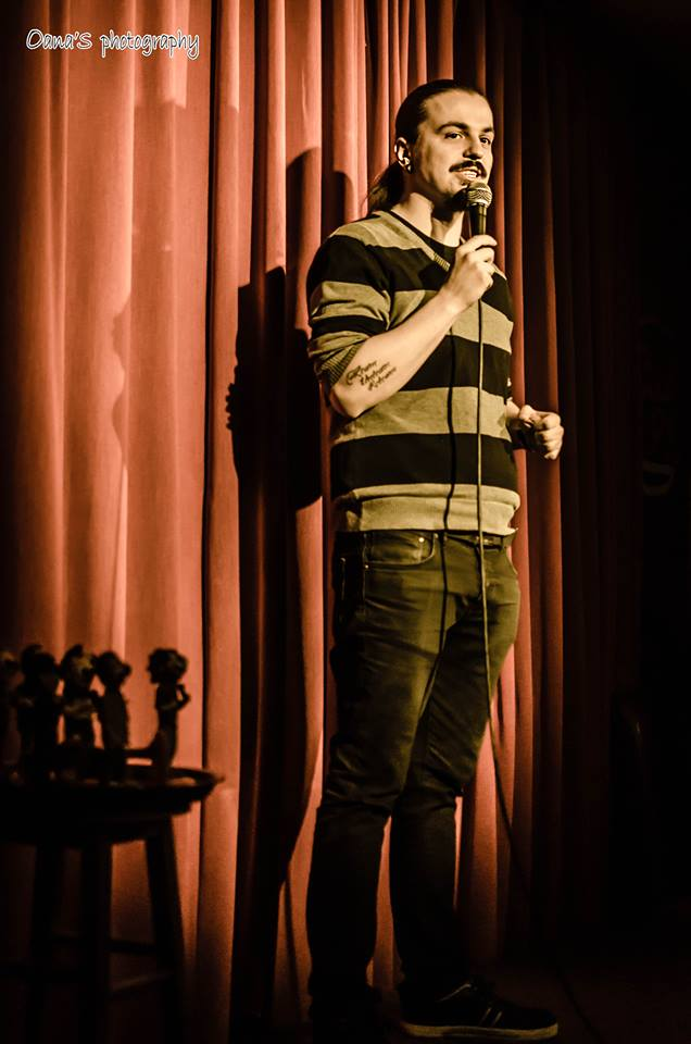 Sergiu Floroaia Stand up comedy