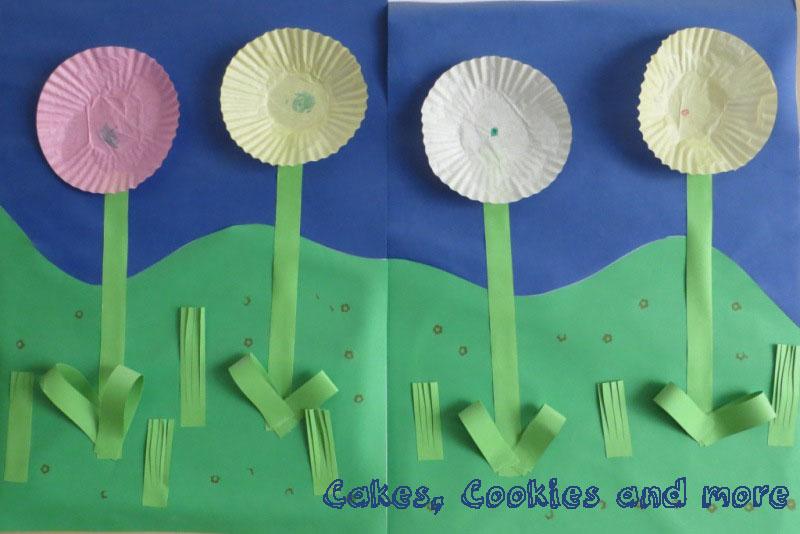 Basteln Mit Kindern Wie Aus Cupcakesformchen Blumen Werden Mit