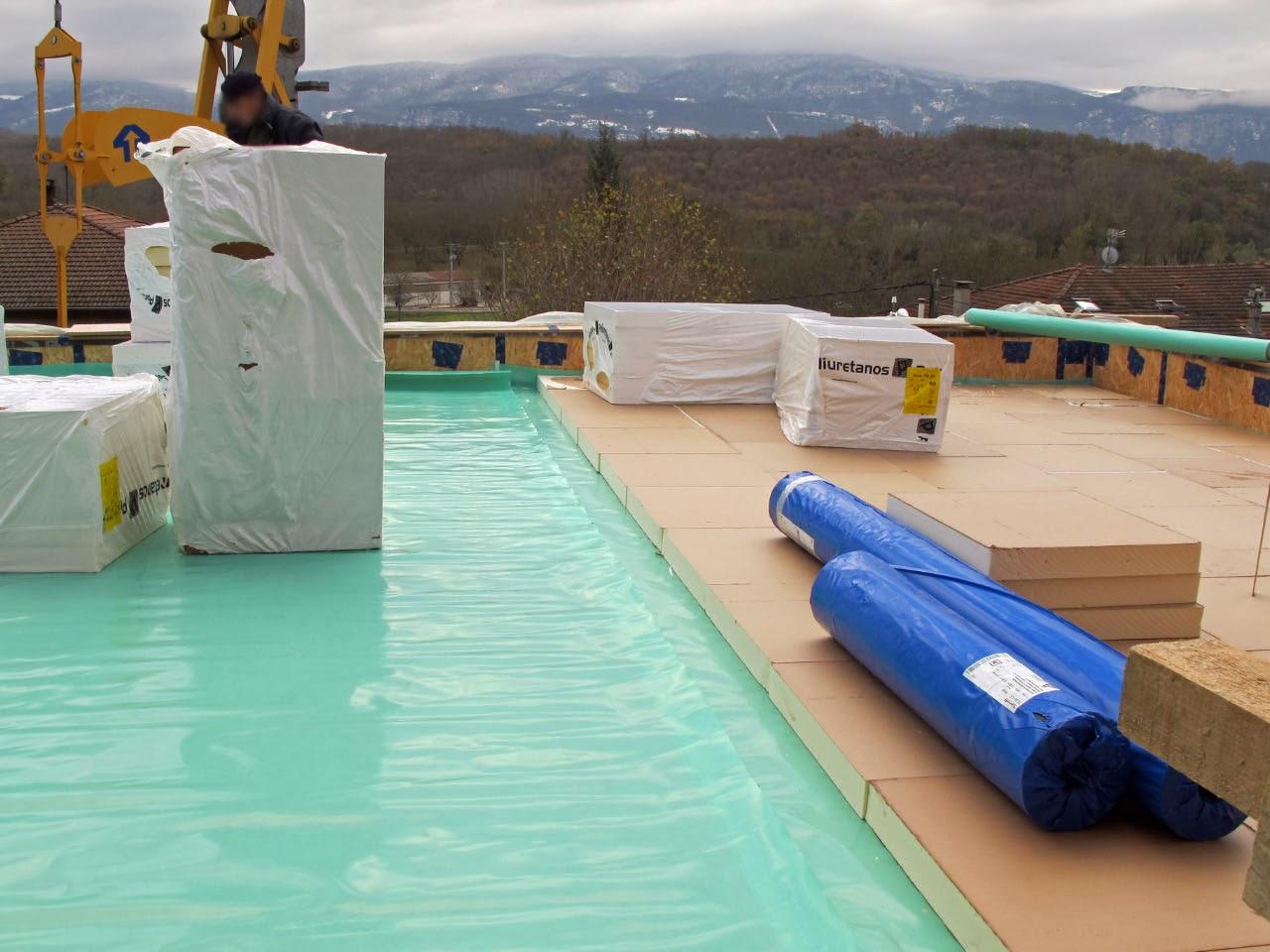 L 39 eycot novembre 2013 for Isolation etancheite toit terrasse
