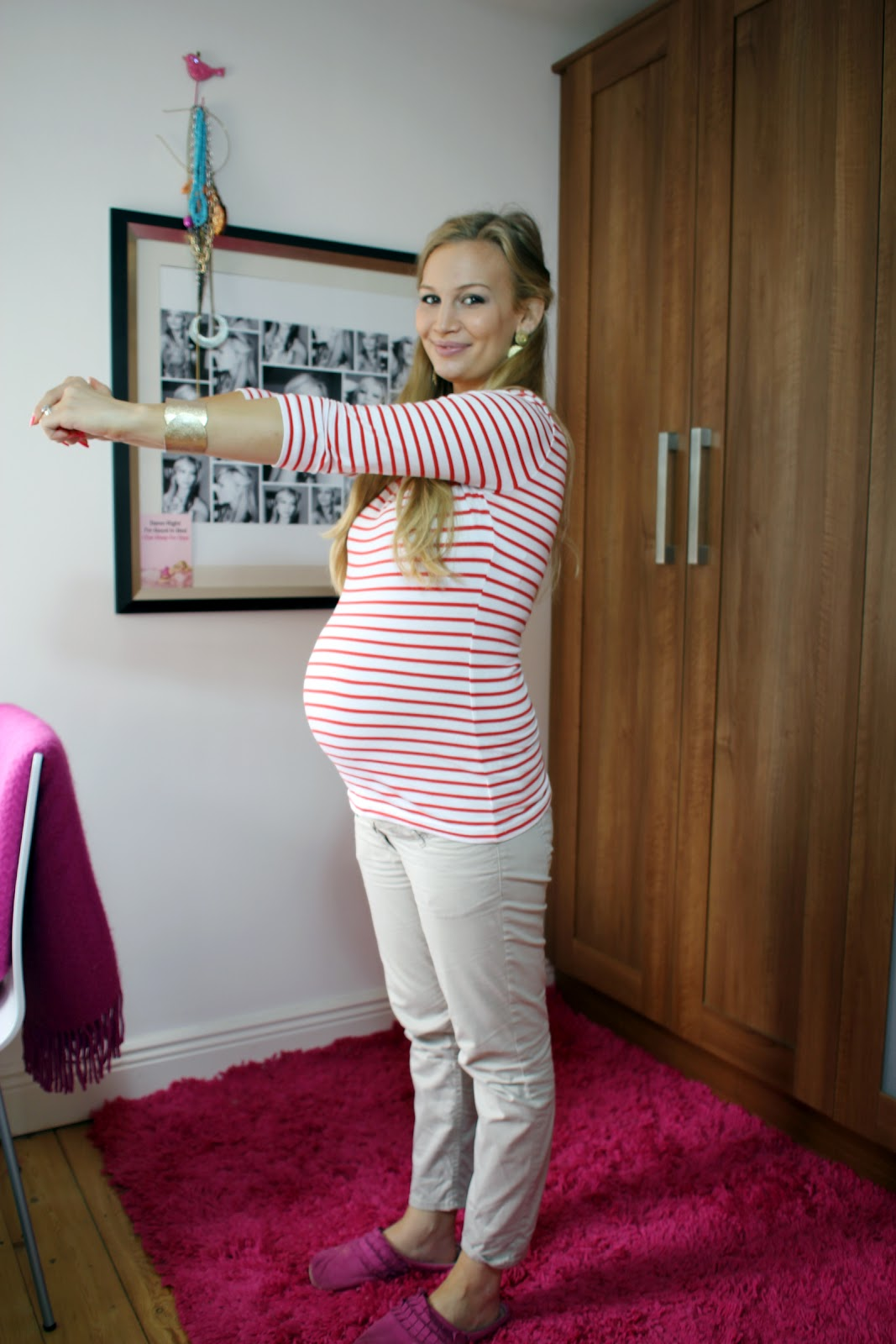 Week 32 bump update anna saccone joly for Gardening 32 weeks pregnant