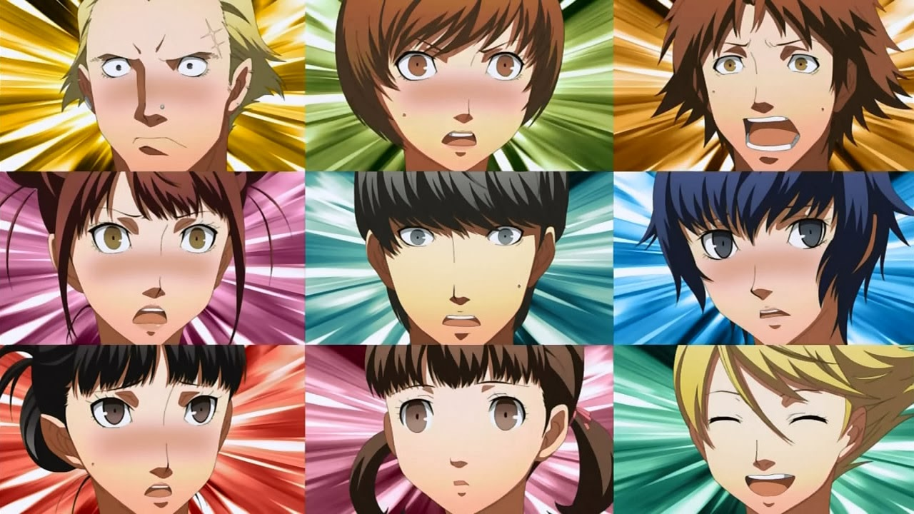 Persona 4 Anime Characters Database : Rants from a fangirl persona part iii