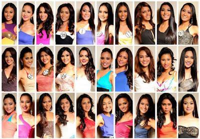 List of Binibining Pilipinas Candidates 2012