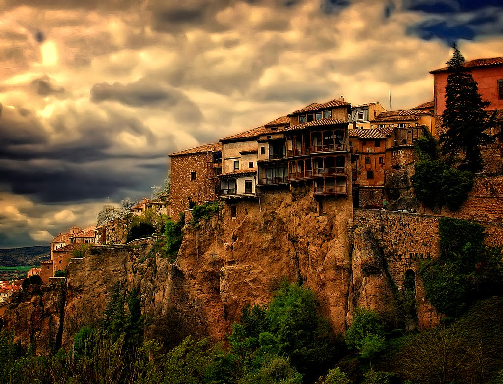 Delightful SPAIN PHOTO. HANGING HOUSES. CUENCA. Photo Gallery