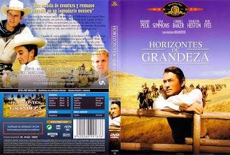 Carátula dvd: Horizontes de grandeza (1958)