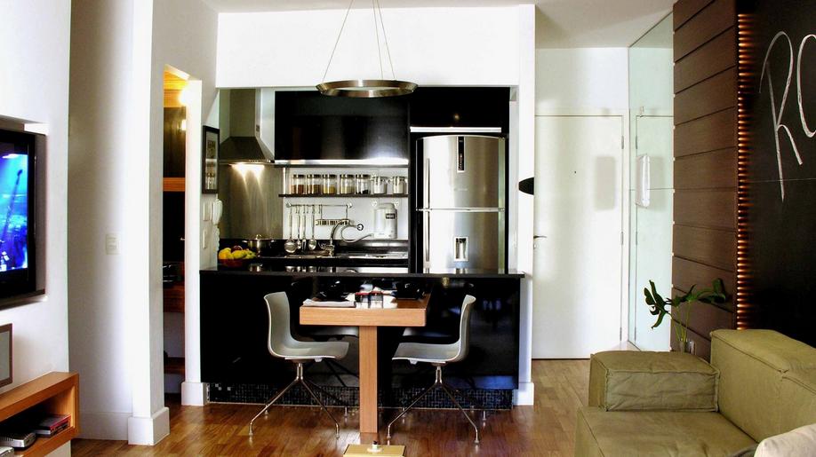 20 Cozinhas Integradas às Salas! Veja dicas e tendências de decoração!  De # Sala E Cozinha Pequena Juntas