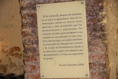 Texto Ávarez Quindós Alambique  Bodega del Real Cortijo. Blog Esteban Capdevila