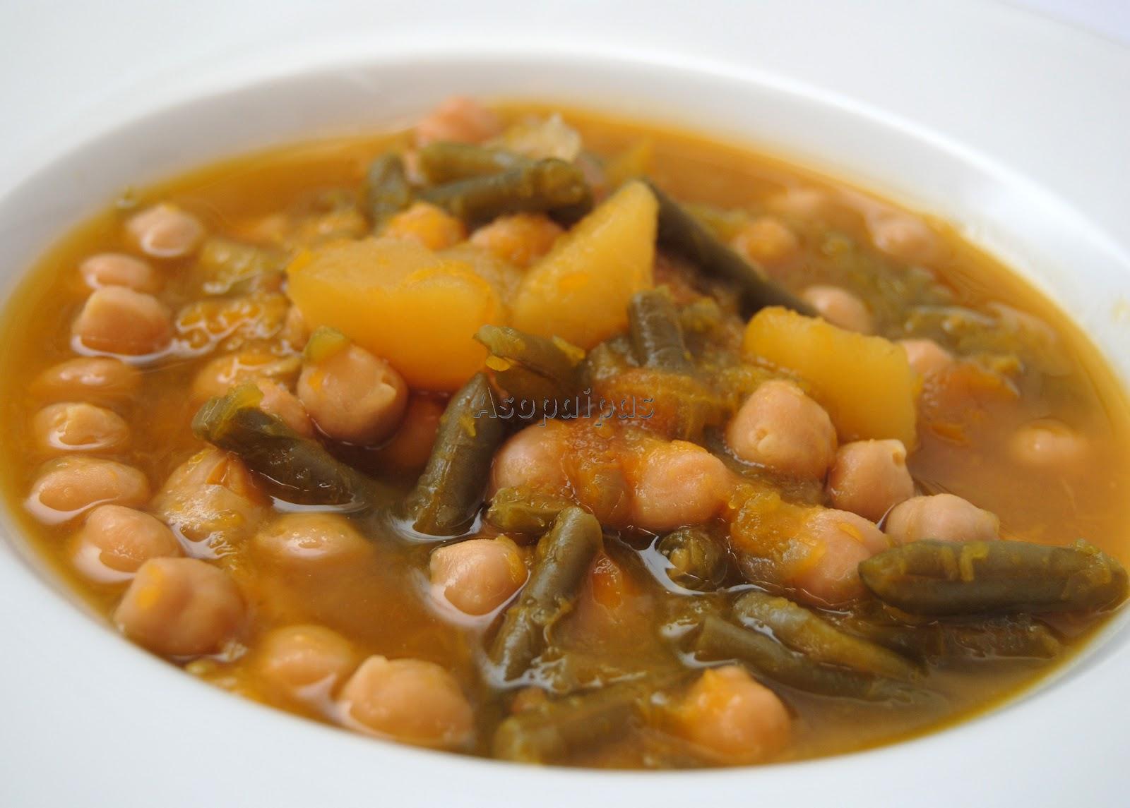 Potaje de calabaza receta asopaipas recetas de cocina for Recetas cocina casera