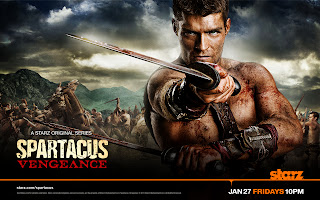 Spartacus İntikam Keyart HD Wallpaper