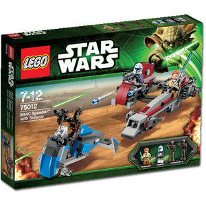 75012 BARC Speeder with Sidecar (The Clone Wars)