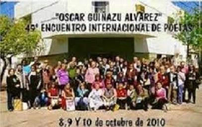 "49ª Encuentro Internacional de Poetas ""Oscar Guiñazú Älvarez"""