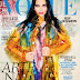 Adriana Lima flaunts bright Miu Miu for the Vogue Brazil September 2014 cover