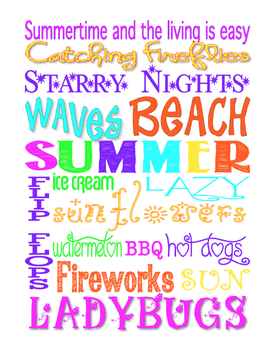 Saturday, June 21, 2014. Hereu0027s A Freebie For The First Day Of Summer!