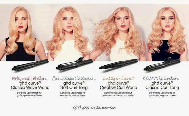 Pinzas para el pelo ghd