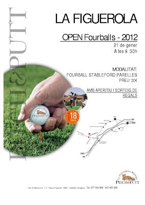 Open Fourball P&P La Figuerola
