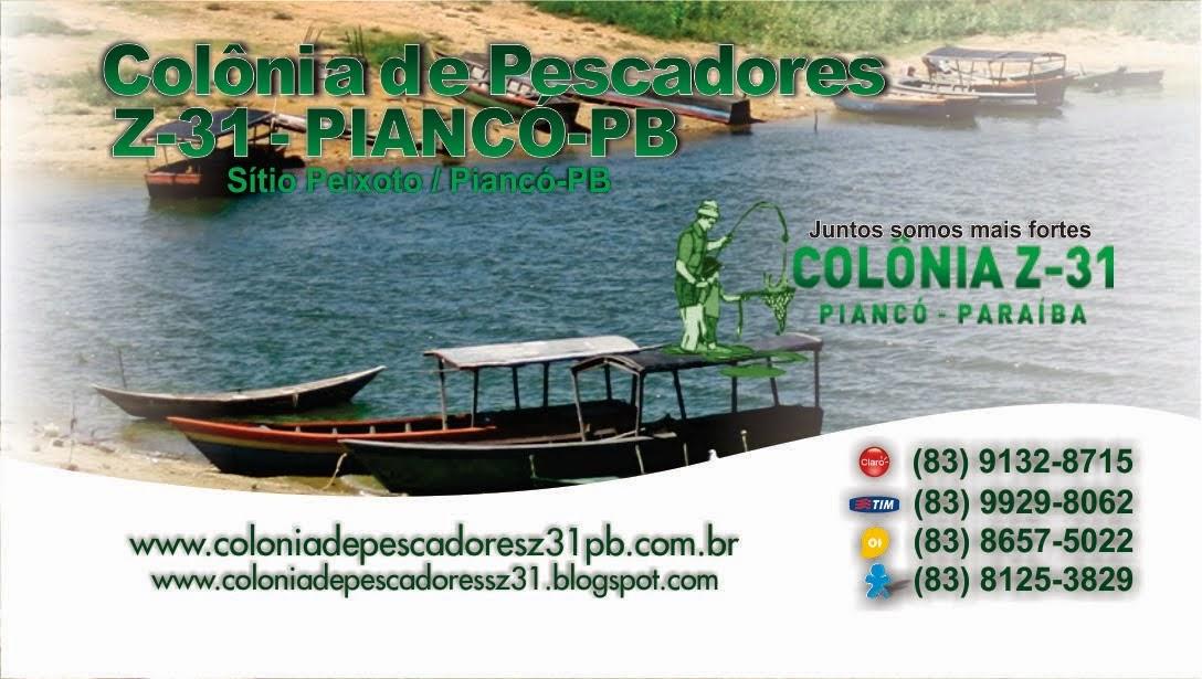 BLOG: COLÔNIA DE PESCADORES Z-31
