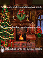 Digital backgrounds, PNG tube files, digital backdrops, digital fantasy backgrounds, digital photography backgrounds, digital scrapbook backgrounds, digital portrait backgrounds, digital background images, Christmas fantasy backgrounds, Christmas eve