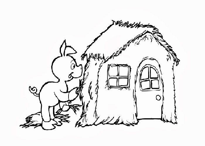 little pig coloring pages - photo#15