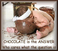 And, Eat Chocolate
