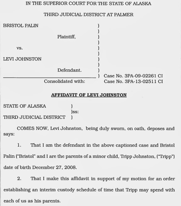 Breaking the heat is on levi johnston files for joint custody levis affidavit is self explanatory and levi explains at length why he is seeking joint custody of his son tripp we believe that levi has an excellent thecheapjerseys Gallery