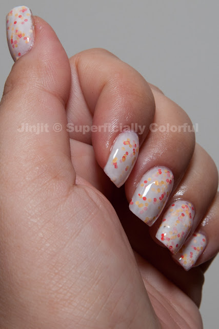 The Nail Junkie - Candy Corn