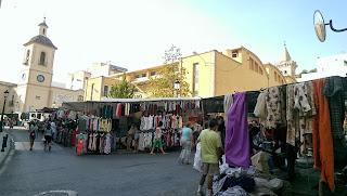 Mercado de los miércoles de Yecla