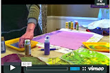 Fabric Painting Stop-Motion Video