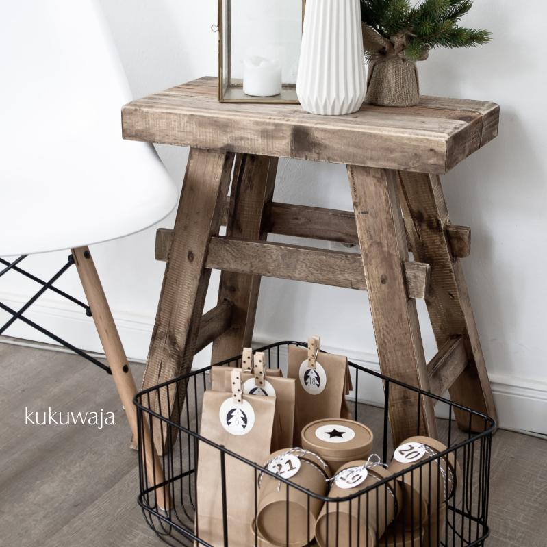 kukuwaja adventskalender ideen 2015 teil 02 06 alles aus kraftpapier. Black Bedroom Furniture Sets. Home Design Ideas